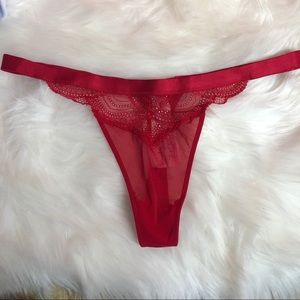 Other - Red thick band thing panties
